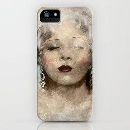 Mae West portrait iPhone Case