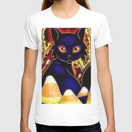 Three Halloween Cats T-shirt