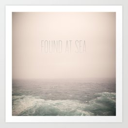 Found At Sea Art Print