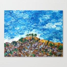 View of Bernal Hill Canvas Print