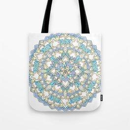 Pastel Bloom Tote Bag