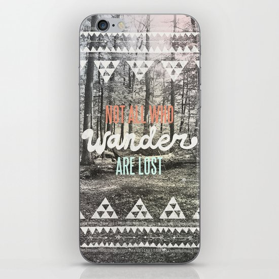 Wander iPhone & iPod Skin