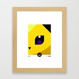 PKMNML #135 JOLT EON Framed Art Print