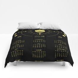 2018 Cosmic Calendar Comforters