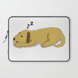 Sleepy Dog Laptop Sleeve