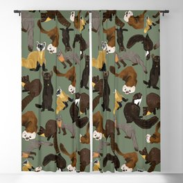 Martens of the World #1 Blackout Curtain