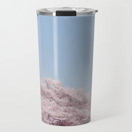 cherry blossum Travel Mug