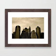 Old/New Framed Art Print