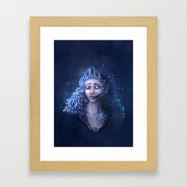 Crystal Contamination 3 Framed Art Print