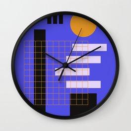 Urban Full Moon Night Wall Clock