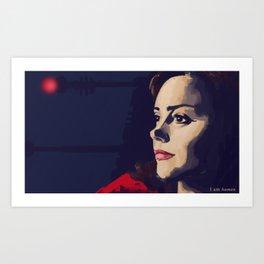 I am human Art Print