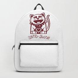Kitty Hotei's Big Heart Backpack