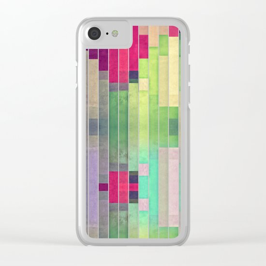 xprynng lyyns Clear iPhone Case