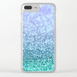 Winter Over Ocean  Clear iPhone Case