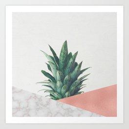 Pineapple Dip VI Art Print