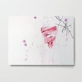 Soft Serve Metal Print