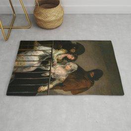 "Francisco Goya ""Majas on a Balcony"" Rug"