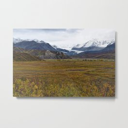 Isabell Pass Glaciers Metal Print