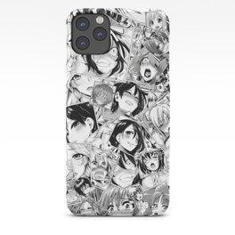 Manga ahegao iPhone Case
