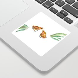 Let's frog about it! Sticker