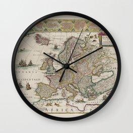 Europe 1644 Wall Clock