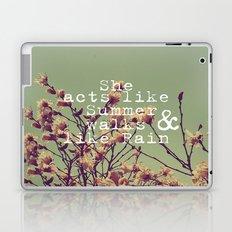 She Acts Like Summer Laptop & iPad Skin