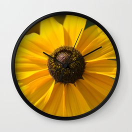 Sunny Flower Wall Clock