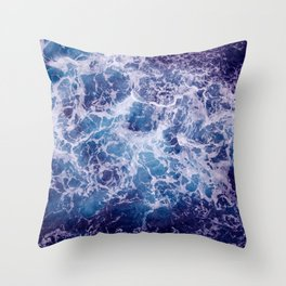 Living Ocean v4 Throw Pillow