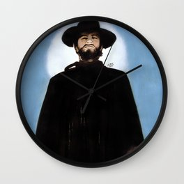 They'd Never Forget The Day He Drifted Into Town Wall Clock