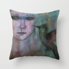 A Spirit of Youth Throw Pillow