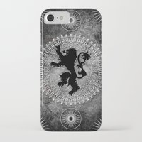 lannister iPhone & iPod Cases featuring House Lannister by Micheal Calcara