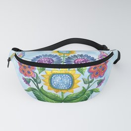 Butterfly Playground on a Summer Day Fanny Pack