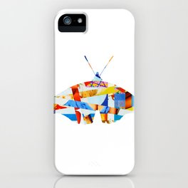 Wayne´s Flying - collab collage iPhone Case