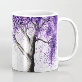 Purple Tree Coffee Mug