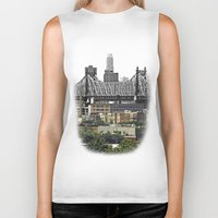 brooklyn Biker Tanks featuring Brooklyn by Mark MacPhail