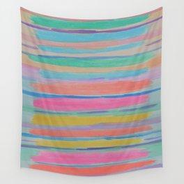Rainbow Row Abstract Wall Tapestry