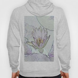 Waterlily Abstract Hoody