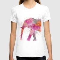 artsy T-shirts featuring Artsy Elephant by LebensART