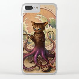 Octopussy Clear iPhone Case