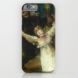 THE BURIAL OF THE SARDINE (detail) - FRANCISCO DE GOYA  iPhone Case