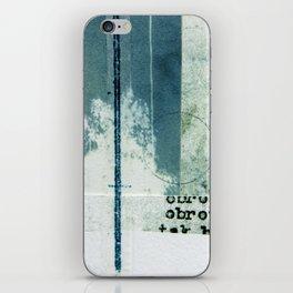Polish Ferns iPhone Skin