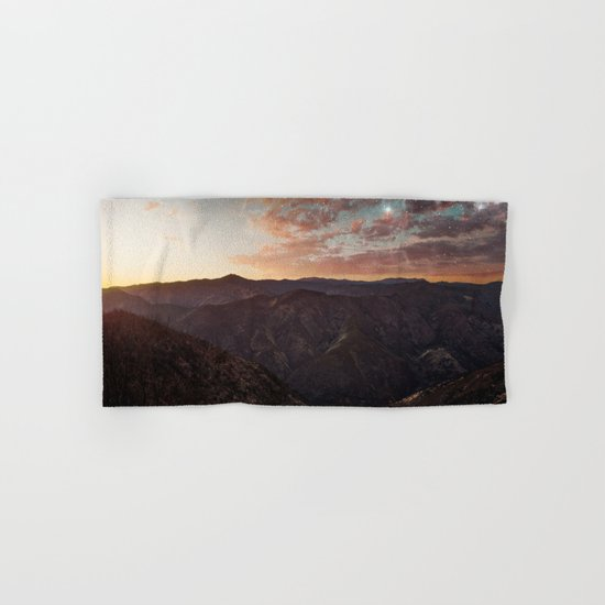 Sundown Yosemite Hand & Bath Towel