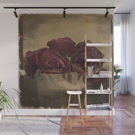 The veins of Roses Wall Mural