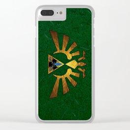 Tri Force of Zelda Clear iPhone Case