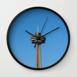 winter skylon tower Wall Clock