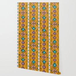 Boho Basic 3 Dandelion Wallpaper