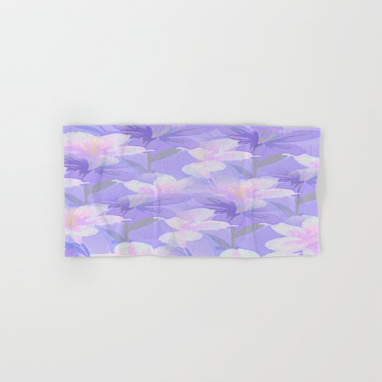 Abundance Of Flowers - Painterly Hand & Bath Towel