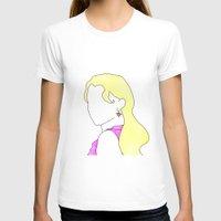luna lovegood T-shirts featuring Luna Portrait by Eva van Gorp