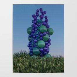 Bubbleflower Poster