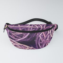 Wicker Balls in Purple Hues Fanny Pack